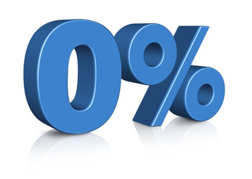 financiación al 0% intereses